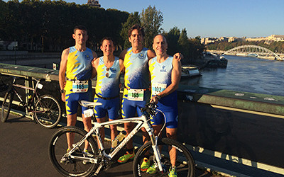19 octobre 2014 : BIKE AND RUN DE PARIS