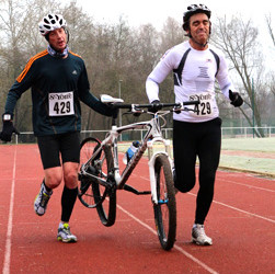 25 janvier 2015 : BIKE & RUN DE SAINT-MICHEL SUR ORGE