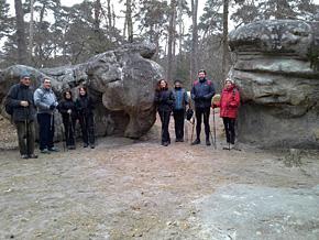 Sortie à Fontainebleau, le 15 mars 2015