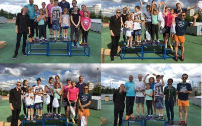 La compétition des familles de l'Azur Charenton, édition 2016