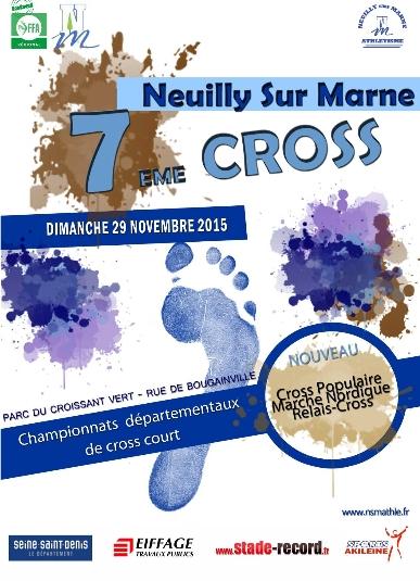 Départemental Cross court, Neuilly-sur-Marne, le 4 décembre 2016