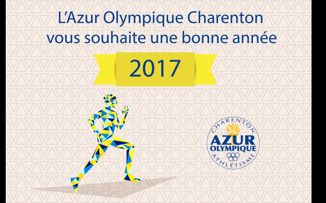 Bonne année Azur 2017