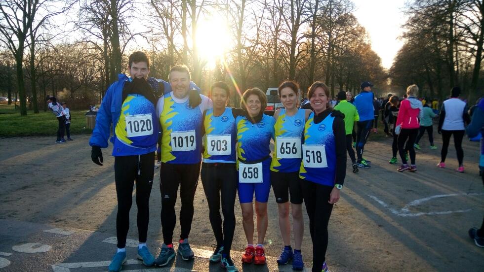 10Km Courir pour le plaisir, Vincennes le 11 décembre 2016