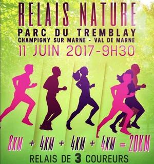 Le relais du Tremblay, 20km à 3, Champigny le 11 juin 2017