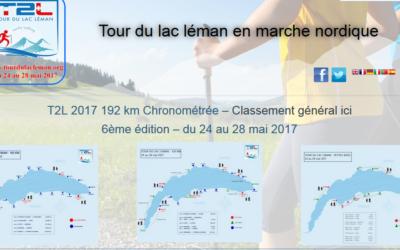 Sortie Marche Nordique au Lac Léman 26-28 mai 2017