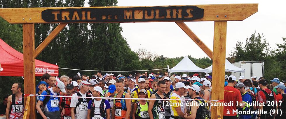 Trail des Moulins, 50km/900m+ et 25km/400m+ à Mondeville le 2 juillet 2017