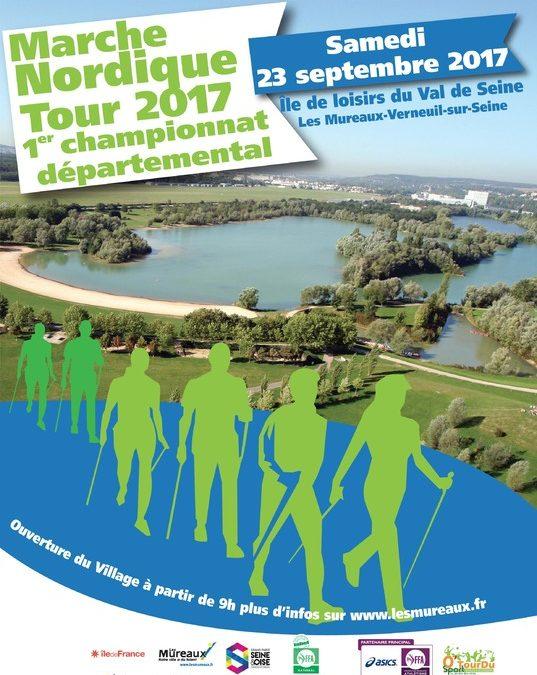 Marche Nordique 12Km à Verneuil-sur-Seine,  le 23 septembre 2017