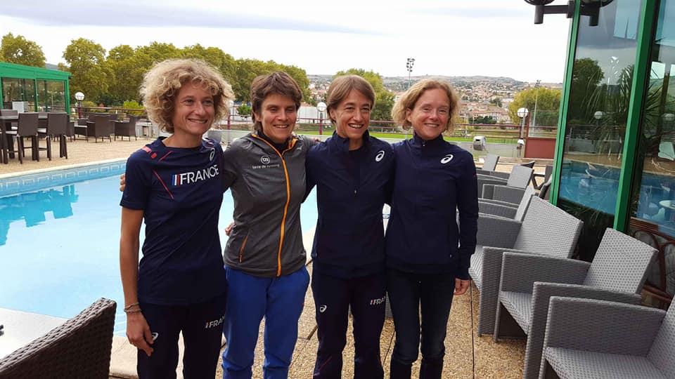 Une azuréenne en BLEU à l'honneur en équipe de France de 100km